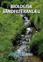 Biologisk sandfilteranlæg - Watercare