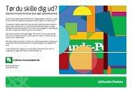 Tør du skille dig ud? - Jyllands-Posten | Annonce