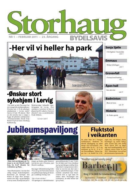 Storhaug Bydelsavis 1 Stavanger Kommune