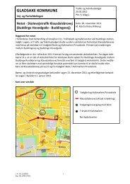 Notat om trafiksikkerhed - Klausdalsbrovej - Gladsaxe Kommune