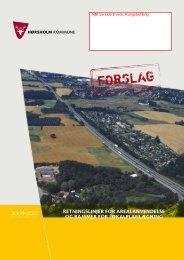 retningslinjer for arealanvendelse og rammer for ... - Bolbroengen