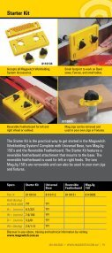 Woodworking Catalog - Magswitch - Page 5