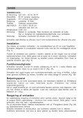 DZ 604 Brugs- og installationsvejledning Manual för bruk ... - Brandt - Page 2