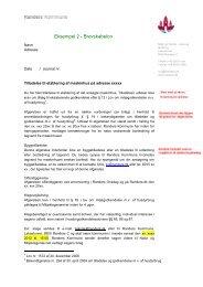 Endelig afgørelse om etablering af maskinhal - Randers Kommune