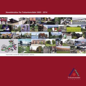 Hovedstruktur for Trekantområdet 2003 - 2014