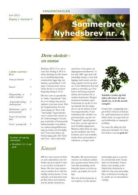 4 Nyhedsbrev.pdf - Vangeboskolen