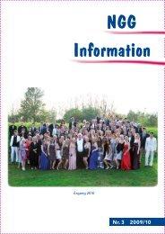NGG-Information #3 2009/2010 - Nordsjællands Grundskole og ...