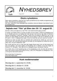 Nyhedsbrev 2003 8. år nr. 3 - Hjortspringbådens Laug