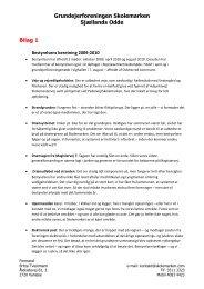 Bilag 1, bestyrelsens beretning 2010 - Grundejerforeningen ...