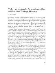 en bebyggelse fra sen vikingetid og middelalder ... - Roskilde Museum