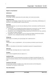 Brugerregler – Visa/Dankort – 8.3.03. - BankNordik