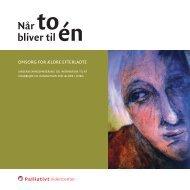 Uddannelsesbogen: Når to bliver til én (pdf) - Palliativt Videncenter