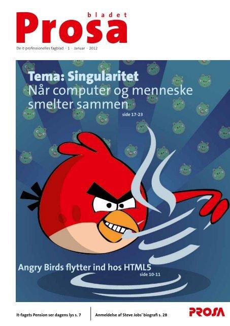 Tema: Singularitet Når computer og menneske smelter ... - Prosa