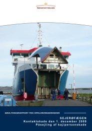 Påsejling af kaj / personskade - Søfartsstyrelsen
