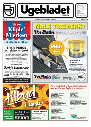 Uge 23 - Ugebladet for Tinglev