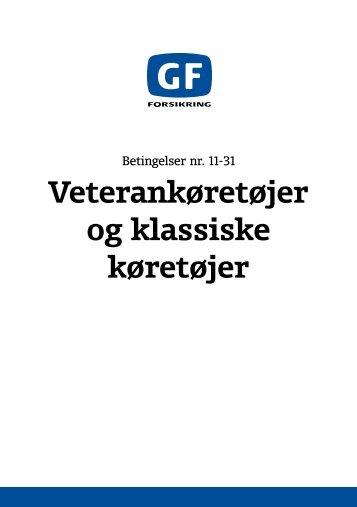 Betingelser - GF Forsikring