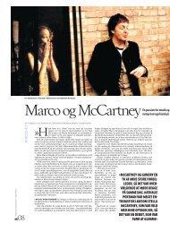 Marco og McCartney - Camilla Alfthan