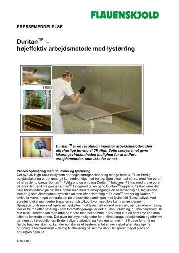 Klik her for at hente pressematerialet som pdf-fil. - C. Flauenskjold A/S