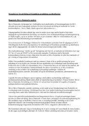 Rammer for udvikling af fremtidens distribution - 3F-Post