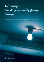 Torturfølger blandt tjetjenske flygtninge i Norge - Cure4you