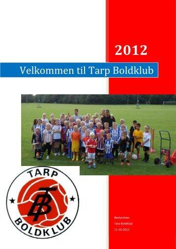 Klub Manual - Tarp Boldklub