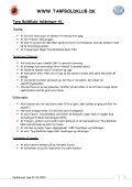 Klub Manual - Tarp Boldklub - Page 6