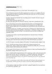 1 Artikelfrågor och svar (Max 14 p) 1) Denna behandlingsstudie är ...