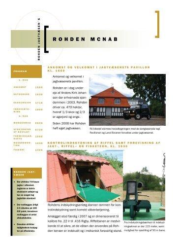 ROHDEN MCNAB - Rohden Gods
