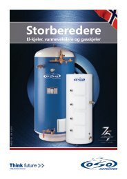 Storberedere - OSO Hotwater