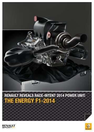 THE ENERGY F1-2014 - Renault Sport