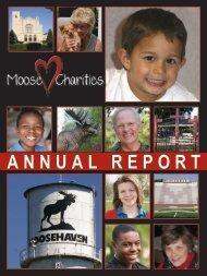 ANNUAL REPORT - Moose Charities