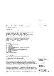2. møde 06.06.2005 - Naturstyrelsen