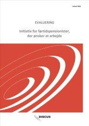 Evaluering af initiativet - foertidspensionister-i-job.dk - forside