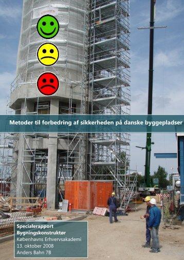 Metoder til forbedring af sikkerheden på danske byggepladser