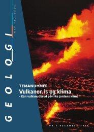 Vulkaner, is og klima - GEUS