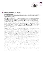 Kredsens beretning 2012 - ABF