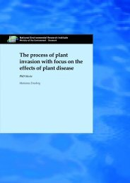 The process of plant invasion with focus on the effects of plant disease