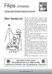 Årg.61 nr.3 December 2010 - Filips Kirke