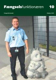 Fagblad 10/2009 - Fængselsforbundet