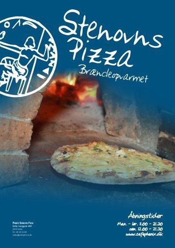 Brændeopvarmet stenovns pizza - Cafe Phenix