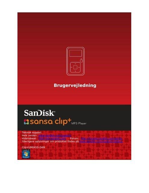 Brugervejledning - SanDisk