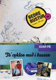 Ta´cyklen med i bussen - Bedrebustur.dk