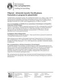 Fastsatt planprogram for Filipstad - Fjordbyen