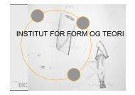 3. sem., skrivekursus 2007 - Designskolen Kolding