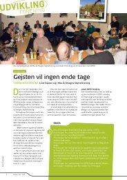 2010-12 Gejsten vil ingen ende tage