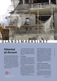 Download magasinet som pdf - Ulandssekretariatet