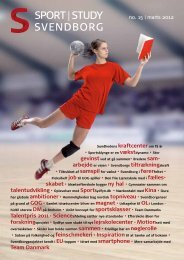 Magasin no. 15 Sport Study Svendborg - svendborgelite