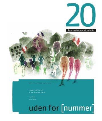 Tema om boligsocialt arbejde - Dansk Socialrådgiverforening