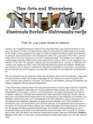 Musik in Lettland - Arnes