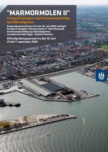 Marmormolen II - Forslag til lokalplan med kommuneplantillæg